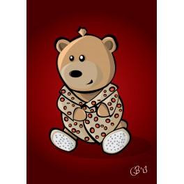 Teddy Cool print